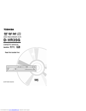 Toshiba D-VR3SG Owner's Manual