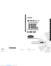 Toshiba D-KR4SU Owner's Manual