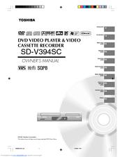 Toshiba HI-FI SQPB Manuals