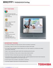 Toshiba MW27FP1 Brochure