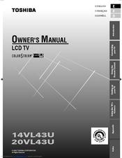 toshiba 14vl43u owner s manual pdf download rh manualslib com Toshiba Laptop User Manual 6.5Hp Tecumseh Engine Manual