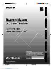 toshiba theaterwide 20hl85 manuals rh manualslib com