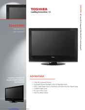 toshiba 32av500u 32 lcd tv manuals rh manualslib com toshiba 32 inch tube tv manual toshiba regza 32 inch tv manual