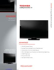 toshiba 32av502r manuals rh manualslib com Wall Mount Toshiba 32AV502R Toshiba 32AV502R Service Manual