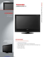 toshiba 37av500u 37 lcd tv manuals rh manualslib com Toshiba Laptop User Manual Toshiba E-Studio203sd Manuals