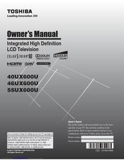 toshiba 46ux600u manuals. Black Bedroom Furniture Sets. Home Design Ideas