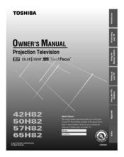 toshiba 42h82 owner s manual pdf download rh manualslib com Toshiba Satellite Laptops Manual Toshiba LCD Manual
