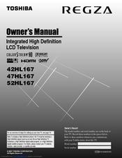 toshiba 52hl167 52 lcd tv manuals rh manualslib com Toshiba Service Manuals Toshiba 55HT1U Manual