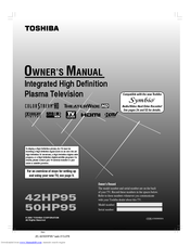toshiba 42hp95 manual