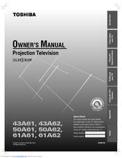 toshiba theaterview 50a62 manuals rh manualslib com Toshiba 50 Theater View Toshiba 32D47 Model View Theater