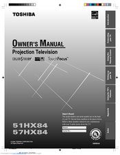 toshiba 65hm167 owners manual