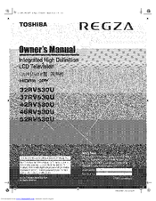 toshiba regza 42hl67 manual