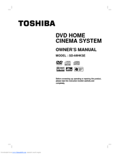 Toshiba SD-44HKSE Owner's Manual