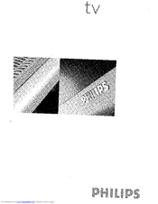 Philips 30PF9946 User Manual