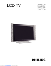 philips 32 lcd hdtv monitor flat tv digital crystal clear 32pf5320 rh manualslib com LG 32 Inch HDTV LG 32 Inch HDTV
