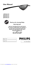 Philips 14PT6441/37 User Manual