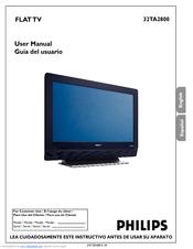 philips 32ta2800 55 user manual pdf download rh manualslib com Instrucciones Sign Manual De Instrucciones