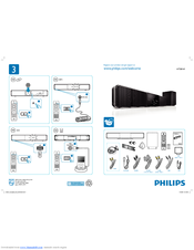 Philips Hts8141 12 User Manual 2 Pages Soundbar