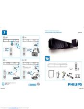 Philips Hts6120 98 User Manual 2 Pages Soundbar