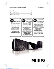 philips hts8100 37b user manual pdf download rh manualslib com Philips Soundbar DVD Philips Soundbar HTL 2101