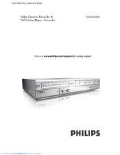 philips dvdr3320v 05 manuals rh manualslib com Philips DVDR3506 DVD Recorder Philips DVD VHS Combo Recorder