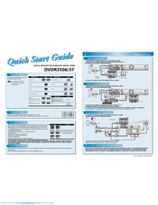 Philips DVDR3506/37 Quick Start Manual