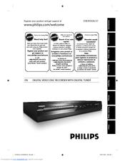 Philips DVDR3506/37 Quick Start Manual