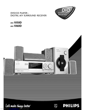 Philips MX-1050D User Manual