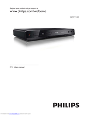 Philips BDP3100/12 User Manual