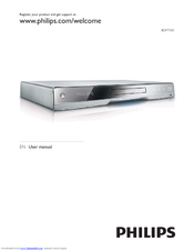 Philips BDP7500BL User Manual