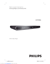 Philips DVP5996K User Manual
