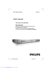 Philips DVP3020K/98 User Manual