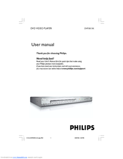 Philips DVP3015K/03 User Manual
