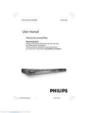 Philips DVP5140K/93 User Manual