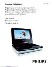 philips pet718 55 manuals rh manualslib com Philips Portable DVD Player PD9030 Philips DVD Players for Cars