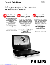 Download free pdf for philips pet708 portable dvd player manual.