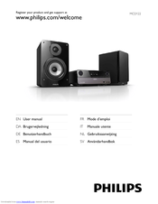 Philips Mcd122 12 Manuals Manualslib