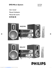 philips mcd700 55 manuals rh manualslib com Philips Universal Remote Code Manual Philips TV User Manual