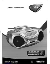 Philips Az1050 Manuals