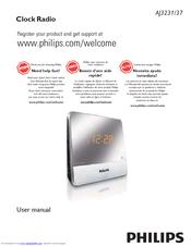 philips aj3231 manuals rh manualslib com philips clock radio aj3231 instructions Philips Weather Clock Radio Manual