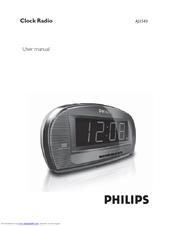 philips aj3540 79 user manual pdf download rh manualslib com philips alarm clock radio aj3540 manual philips clock radio aj3540 manual