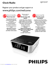 Philips AJ3112 User Manual
