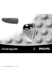 philips alarm clock instructions