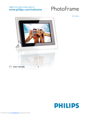 Philips 7FF2CWO/27E Digital Photo Frame Drivers Download (2019)