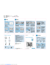 Philips 7FF1CWO Quick Start Manual