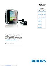 Philips SA2945/37B MP3 Player Drivers Windows