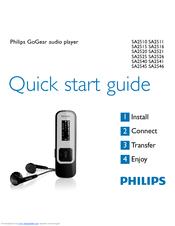 Philips SA2515/37B MP3 Player Driver UPDATE