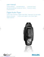 Philips SA2627/37B MP3 Player 64Bit