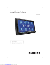 Philips CED1700 User Manual