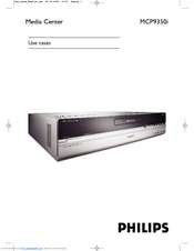 Philips Showline MCP9350I User Manual